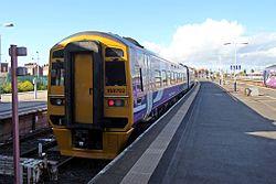 Northern Rail Class 158, 158872, Blackpool North railway station (geograph 4500220).jpg