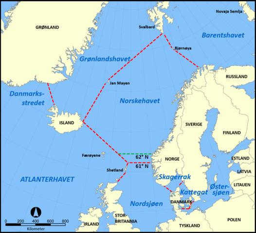 Carte Islande Norvege Suese