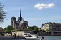 Notre-Dame from the southeast, Paris 13 April 2015.jpg