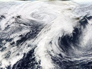 November 2011 Bering Sea cyclone