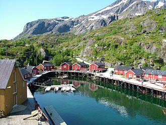 Lofoten - Nusfjord.