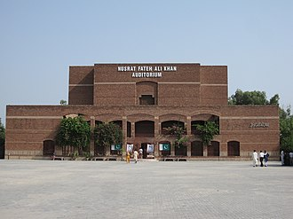 Nusrat Fateh Ali Khan - Faisalabad Arts Council's auditorium named after Khan