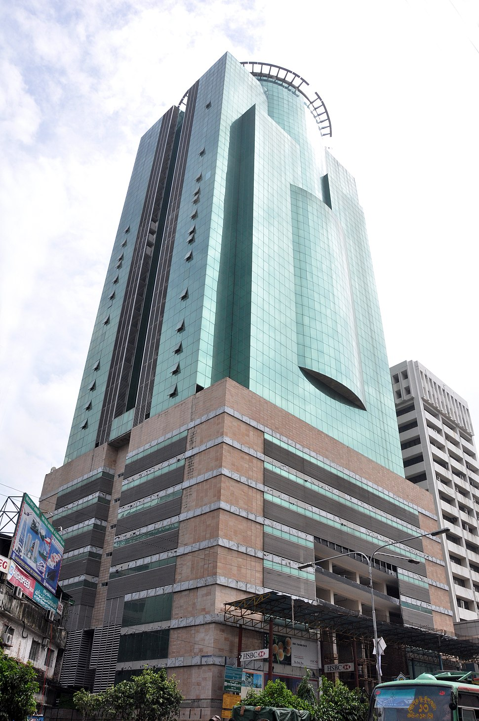 ORION Group constructed the highest building in the country City Centre