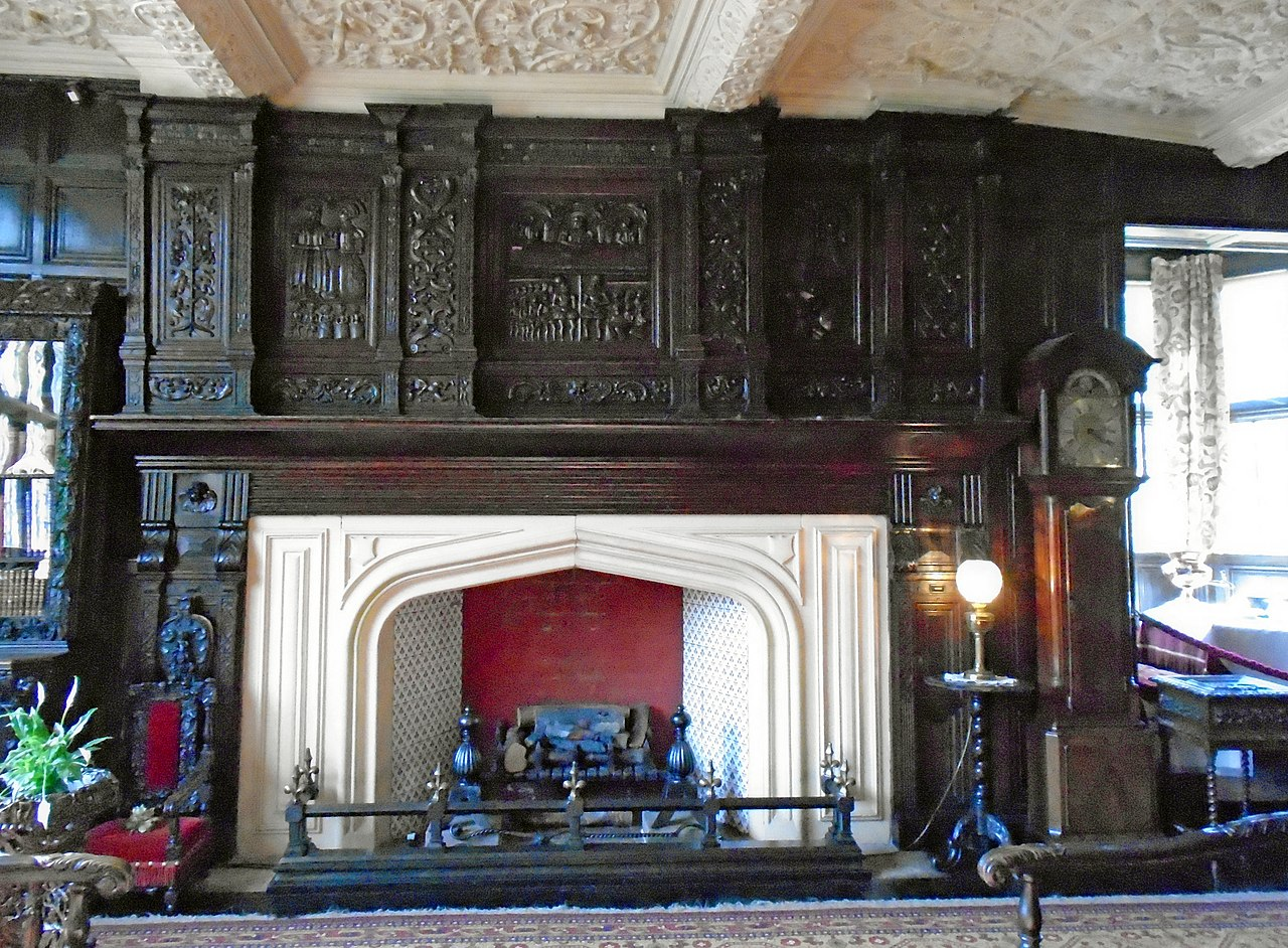File Oak Parlour Speke Hall 3 Jpg Wikimedia Commons