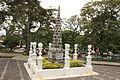 Obelisco, monumento a los fundadores de jardin, ubicado en la plaza principal.JPG