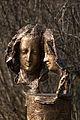 Obermenzing - Schloss Blutenburg - Agnes Bernauer Denkmal mit Tele 005.jpg