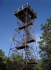 Observation tower atop Mt. Davis, Pennsylvania.JPG