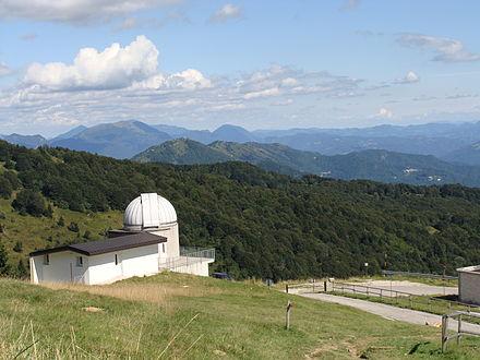 L'osservatorio del monte Matajur