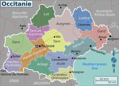 Occitanie – Travel guide at Wikivoyage