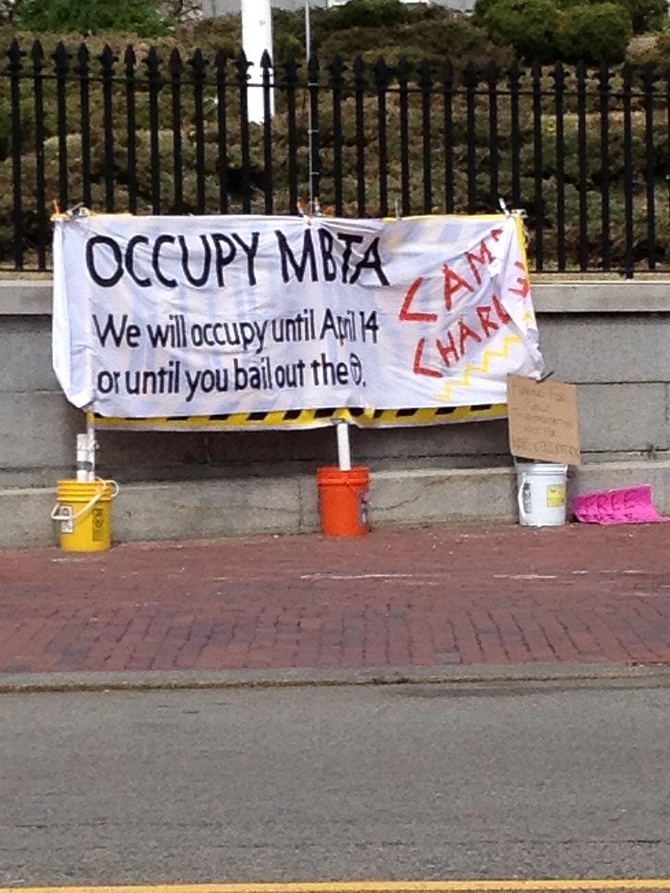 Occupy MBTA April 2012