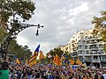 October 21 2017 demonstration Barcelona Passeig de Gracia 05.jpg