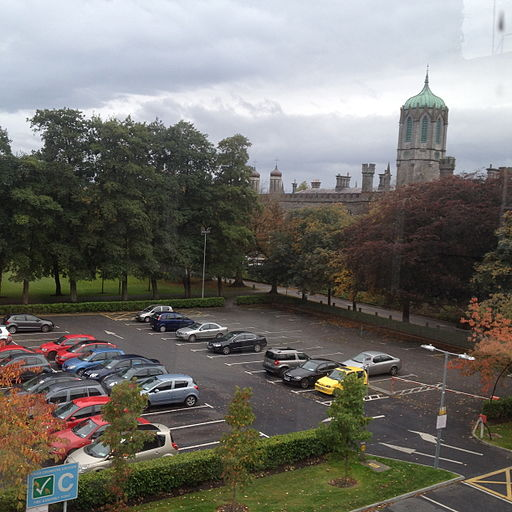 Office view of the Quadrangle, NUI Galway