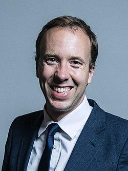 Official portrait of Matt Hancock crop 2.jpg