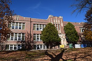 National Register of Historic Places listings in Green Lake County, Wisconsin - Image: Old Berlin High School