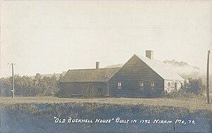Hiram, Maine - Image: Old Bucknell House, Hiram, ME