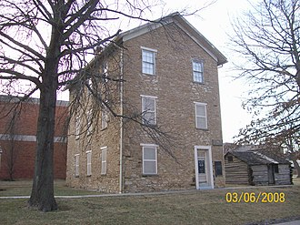 Baker University - Old Castle Hall, built in 1857–58 as the original home of Baker University