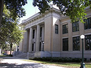 Ehem. Lee County Courthouse in Fort Myers, gelistet im NRHP Nr. 89000196[1]