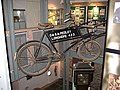 Old bicycle exhibit, Dean Heritage Centre - geograph.org.uk - 816933.jpg