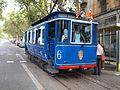 Old tram at Barcelona pic02.JPG