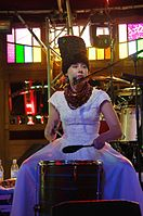 Olena Tsibulska (DakhaBrakha) (Haldern Pop 2013) IMGP6684 smial wp.jpg