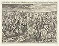Ondergang van de Spaanse Armada, 1588 Classis Hispanica celeberrima quae anno celeberrimo MDLXXXVIII inter Galliam Britanniamq. venit & perijt (titel op object), RP-P-OB-80.068.jpg