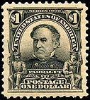 David Glasgow Farragut, $1.00, 1903