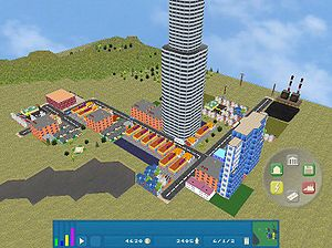 OpenCity - Screenshot of OpenCity 0.0.5