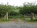 Orchard gates - geograph.org.uk - 1879894.jpg