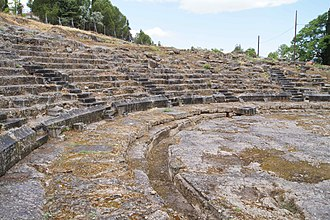 Orchomenus (Boeotia) - The ancient theatre