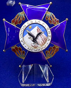 Order of the Condor of the Andes grand cross star (Bolivia) - Tallinn Museum of Orders.jpg