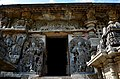 Ornate relief and sculptures at entrance into Hoysaleshwara temple in Halebidu.jpg