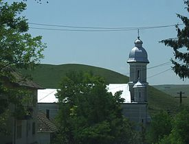 Orthodox church in Geaca, Cluj County.JPG
