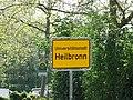 Ortsschild Universitätsstadt Heilbronn 2020-04-16.jpg
