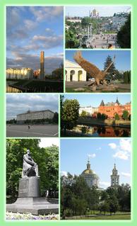 Oryol City in Oryol Oblast, Russia