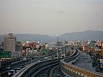 Osaka-monorail Settsu station - panoramio - DVMG.jpg