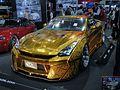 Osaka Auto Messe 2016 (94) - Kuhl JAPAN Project R35GT-R Gold Metal Paint.jpg