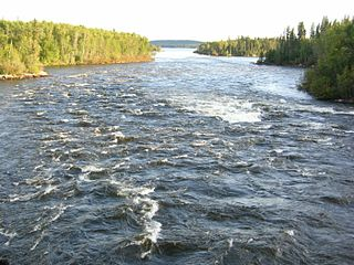 river and tributary of Hudson Bay in Canada