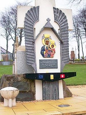 Carfin Grotto - Memorial to Black Madonna of Częstochowa