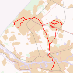 Melanchthonweg is located in RandstadRail network