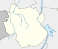 Outline map of Kazbekovsky District (with position on the map of Dagestan).png