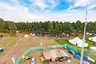Electromagnetic Field (festival) - Overhead view of Electromagnetic Field 2012