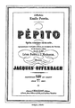 Pépito Cover Offenbach Music sheet.png
