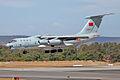 PLAAF Ilyushin Il-76 landing at Perth Airport -2.jpg