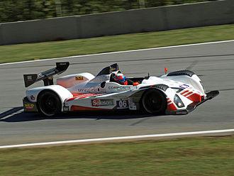 2012 Petit Le Mans - CORE Autosport won the LMPC class.