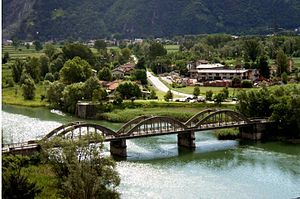 Gera Lario - the town with the Bridge