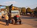 Pa-Oh men cooling of their motor (Myanmar 2013) (11773021284).jpg
