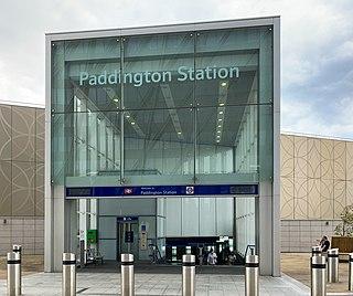 Paddington tube station (Circle and Hammersmith & City lines) London Underground station