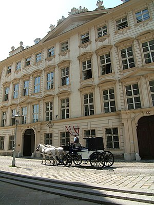 Austrian Federal Ministry of Education and Women's Affairs - The Ministry headquarters are located on the Minoritenplatz in the Palais Dietrichstein-Ulfeld, designed in 1753 by the architect Franz Anton Hillebrandt, Vienna.