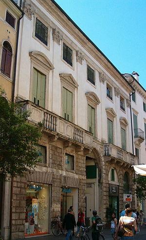 Palazzo Pojana, Vicenza - Palazzo Pojana