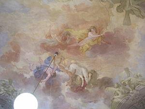 Palazzo Capponi-Covoni - Fall of Phaeton, fresco